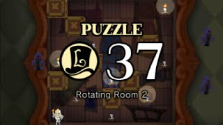 Puzzle Solution: Puzzle 37 - Rotating Room 2 (Professor Layton vs Phoenix Wright: Ace Attorney)