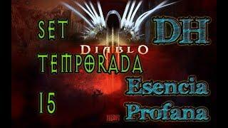 Diablo 3 Set de Temporada 15 Demon Hunter Esencia profana build GR