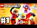 LEGO The Incredibles   Gameplay Walkthrough Part 1   Under Mined Intro!