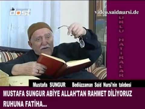 Mustafa Sungur'dan Hatıralar