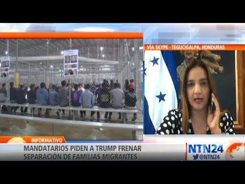 """""""Tenemos 235 hondureños separados de sus padres que se encuentran en albergues"""""""