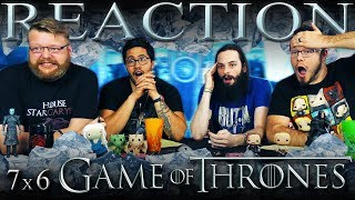 """Game of Thrones 7x6 REACTION!! """"Beyond the Wall"""""""