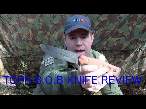 TOPS B.O.B (Brothers Of Bushcraft) Knife Review