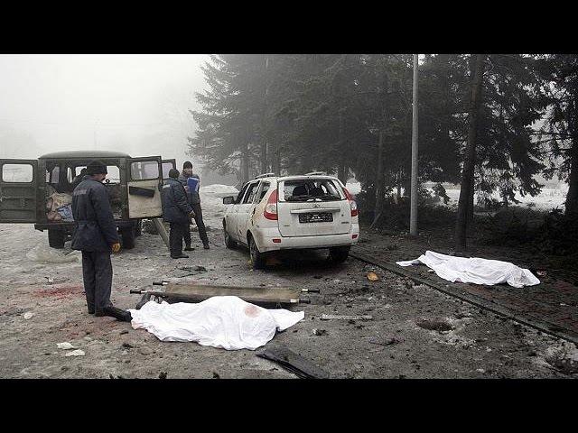 Intensifica-se a guerra no leste da Ucrânia