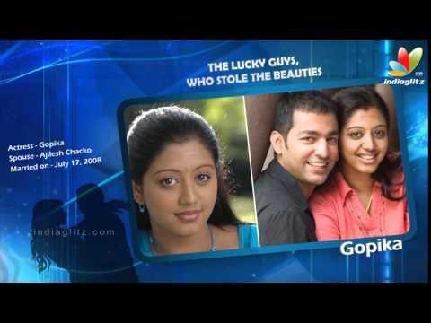 Tamil Beauty Actress Husbands List