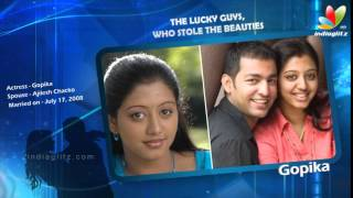 The lucky guys, who stole the beauties | Simran, Rambha, Meera Jasmine, Reemma Sen