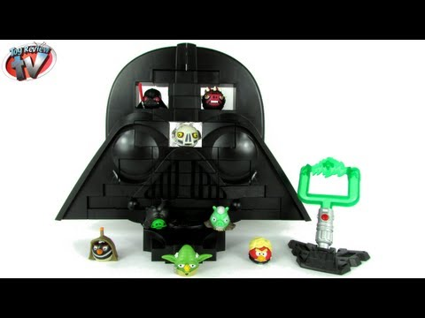 Angry Birds Star Wars: Rise Of Darth Vader Jenga Game Toy Review. Hasbro