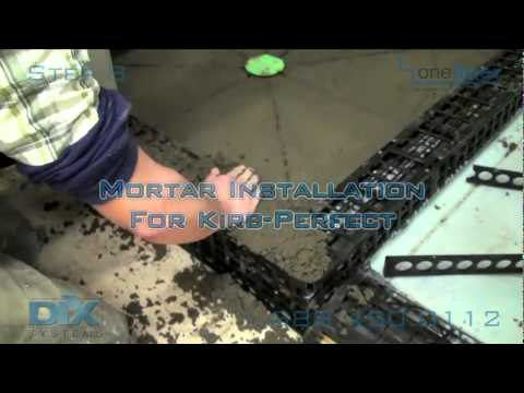 Install Shower Pan Dix Step 8 Mortar for Kirb Perfect. Shower Construction How-To