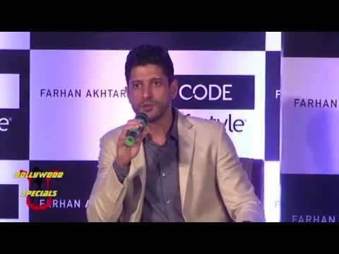 Farhan Akhtar the New Brand Ambassador of  'CODE' By 'Lifestyle