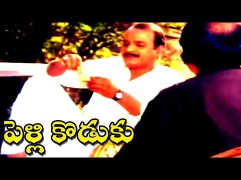 Pelli Koduku Movie    A.V.S Talking About His Son Comedy Scene    Naresh,Divyavani.