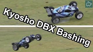 BASHING the Kyosho DBX NITRO Buggy!