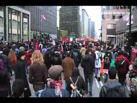 Anti-Capitalist Demo - Highlights May 1st