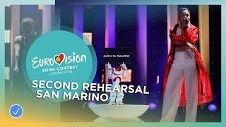 Jessika feat. Jenifer Brening - Who We Are - Exclusive Rehearsal Clip - San Marino - Eurovision 2018