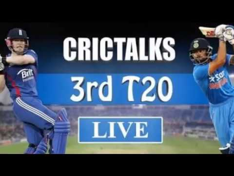 LIVE CRICKET STREAMING 3rd T20 INDIA VS ENGLAND | Live cricket updates