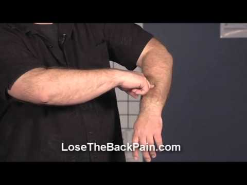 Golfers Elbow Pain Relief