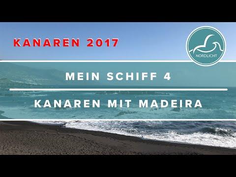 Mein Schiff 4 - Kanaren mit Madeira 2017