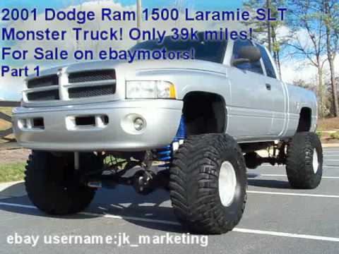 0 2001 Dodge Ram Monster Truck 4x4 for sale