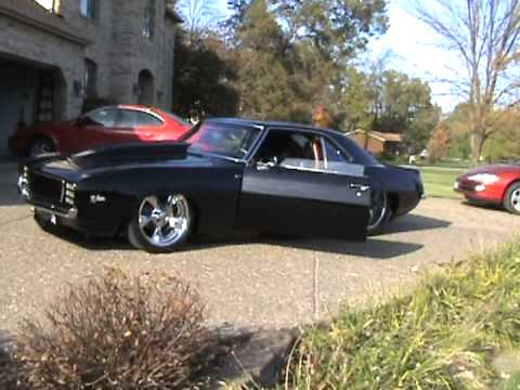 1969 Z28 Rs X77 Camaro Black Walk Around Car For Sale