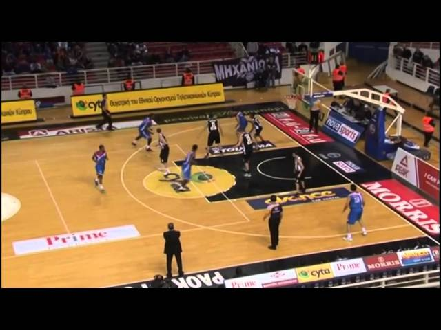 Panionios 100 PAOK 91 (12/14/2013) second half