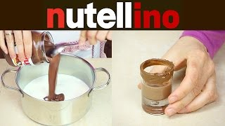 NUTELLINO Liquore alla Nutella Fatto in Casa - Homemade Nutella Liqueur Recipe