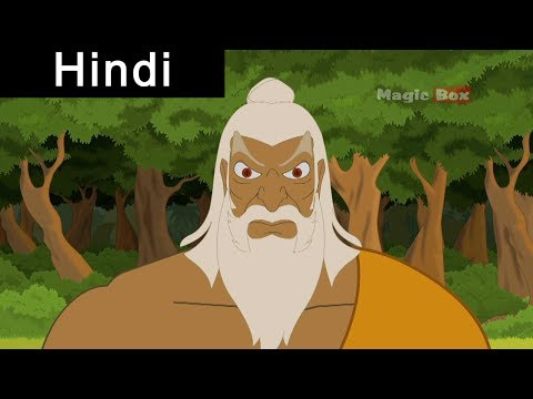 Sita Abducted By Ravana - Ramayanam In Hindi - AnimationCartoon...