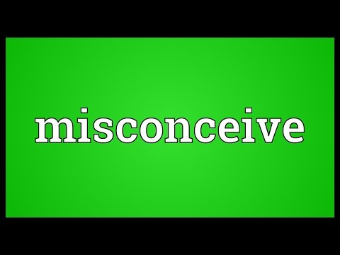 Header of misconceive