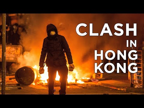 Police and Protesters Clash in Mong Kok, Hong Kong | China Uncensored