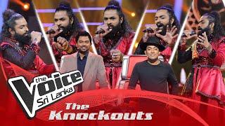 Janitha Nipun Bandara | Mere Dholna | The Knockouts | The Voice Sri Lanka