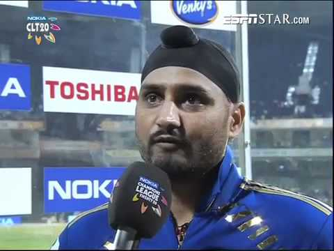 Nokia CL T20 final, MI vs RCB: Interview, Harbhajan, Vettori