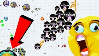 Agar.io Solo Tricky Play Biggest Take Over Agario Mobile Gameplay
