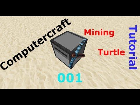 Minecraft Tekkit Computercraft Mining Turtle Tutorial [Deutsch/HD] #001 - Stripmining programmieren