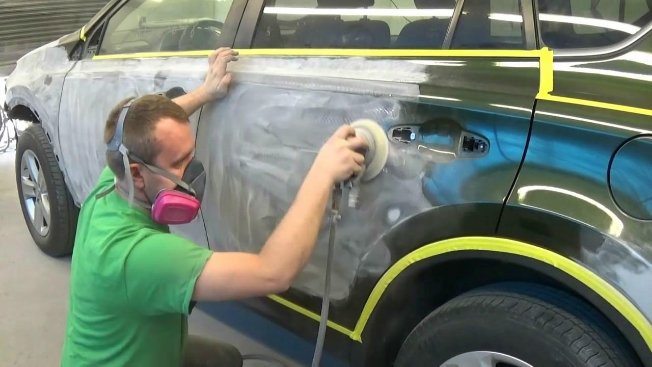 Покраска авто для начинающих 90