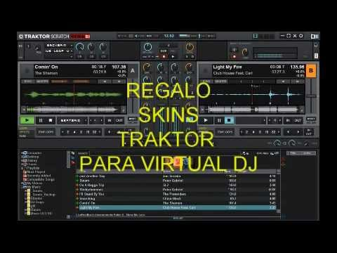 SKINS TRAKTOR PARA VIRTUAL DJ (DE REGALO)