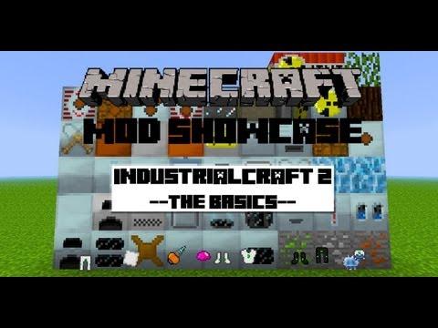 [1.2.5]Minecraft Mod Showcase: Industrial Craft 2 - Pt. 1 - Basics
