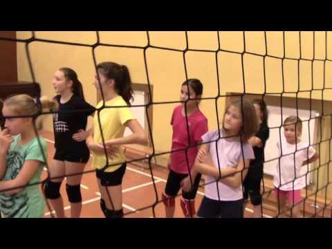 Trening Mini Siatkówki