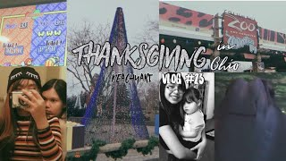 [Vlog #23] HAPPY THANKSGIVING IN OH! Black Friday, Zoo lights, & More! | PEACHYARI