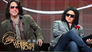 Paul Stanley's 1st Impression of Gene Simmons | Where Are They Now | Oprah Winfrey Network