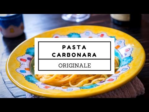 Spaghetti alla carbonara – video ricetta originale romana