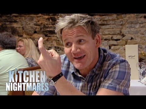 Gordon Ramsay Doesn't Like Oil On His Plate - Kitchen Nightmares
