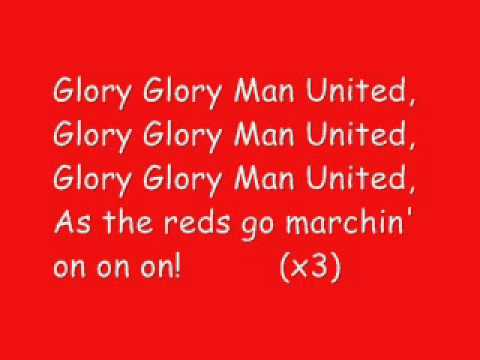 Glory Glory Man United karaoke thumbnail