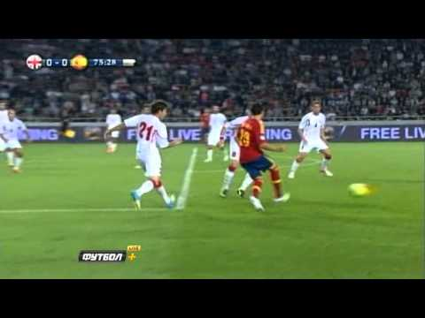 Georgia - Spain / Second Half / 11 September 2012