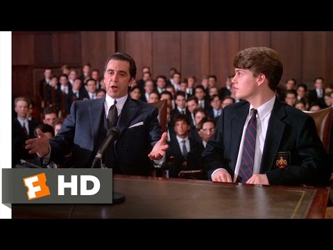 Frank Defends Charlie In Court - Scent Of A Woman (8 8) Movie Clip (1992) Hd video