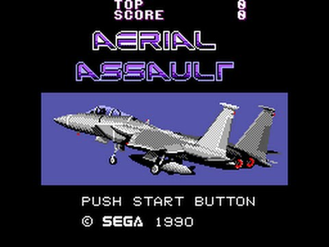 Master System Longplay [090] Aerial Assault