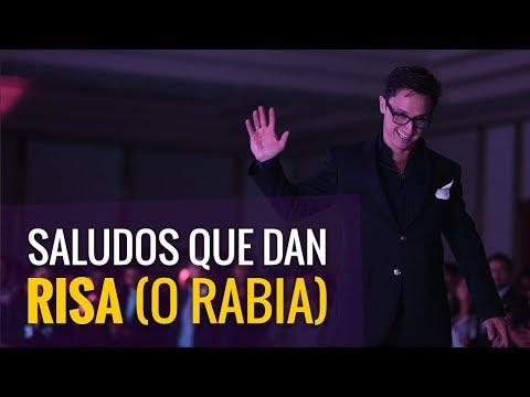 Saludos que dan risa (o rabia) / Juan Diego Gómez G