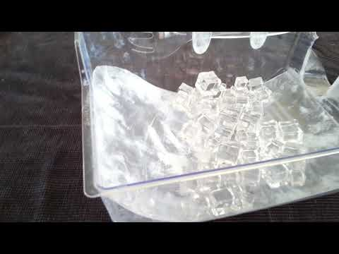 New patented invention for your freezer! No dropped cubes!