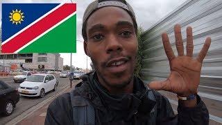 A Lost American in Windhoek Namibia