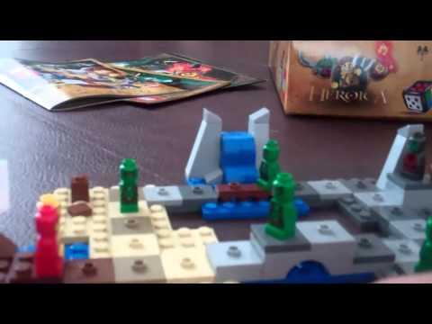 lego heroica draida bay review / gameplay