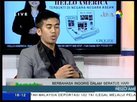 Talkshow Hello America di JAK TV part 2
