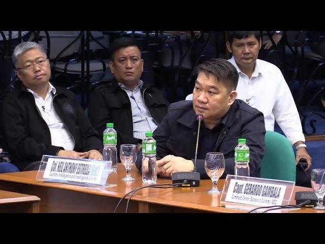 Estrella confirms visit of Duterte's son-in-law at BOC