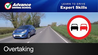 Overtaking     Learning to drive: Expert skills